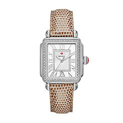 Deco Madison Stainless Steel Diamond Watch