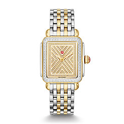 Art of Deco Two-Tone Diamond Watch