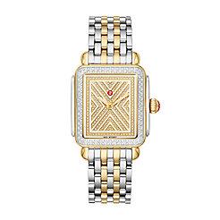 Art of Deco Two-Tone Diamond Watch