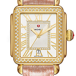 Deco Madison Gold Diamond Watch