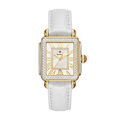 Deco Madison Two-Tone Diamond Watch