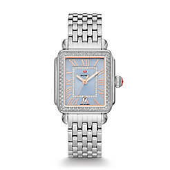 Deco Madison Stainless Diamond Watch