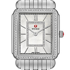 Deco II Diamond, Diamond Dial Watch