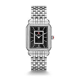 Deco II Diamond, Black Diamond Dial Watch