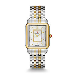 Deco II Two Tone, Diamond Dial Watch