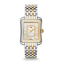 Deco Moderne II Two-Tone Diamond Watch