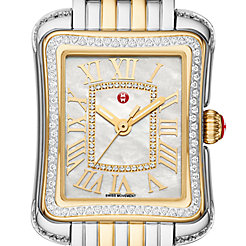 Deco Moderne II Two-Tone Diamond Watch