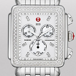 Deco XL Day Diamond, Diamond Dial Watch