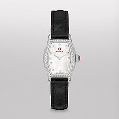 Urban Coquette Diamond, Diamond Dial Black Alligator Watch