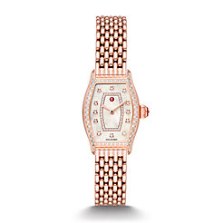 Coquette Pink Gold Diamond Watch