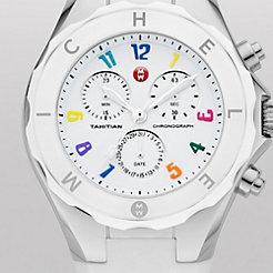 Tahitian Jelly Bean Large Carousel White Watch