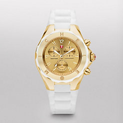 Tahitian Jelly Bean, White Gold Tone Dial Watch