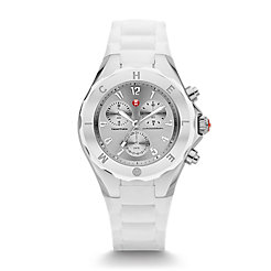 Tahitian Jelly Bean Large White Stainless Steel Dial Watch