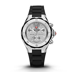 Tahitian Jelly Bean Large Black Stainless Steel Dial Watch
