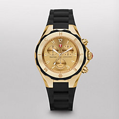 Tahitian Jelly Bean Large Black Gold Tone Dial Watch