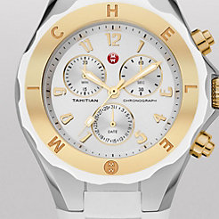 Tahitian Jelly Bean White Two-Tone Watch