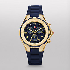 Tahitian Jelly Bean Navy Gold Watch