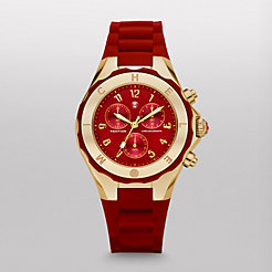 Tahitian Jelly Bean Red Gold Watch