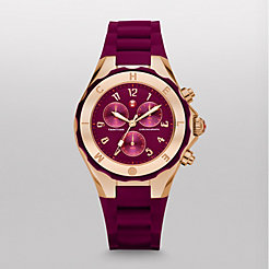 Tahitian Jelly Bean Merlot Rose Gold Watch