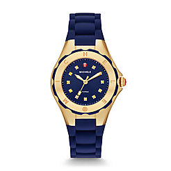 Tahitian Jelly Bean Petite Gold Navy