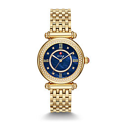 Caber Mid Gold Diamond Watch