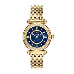 Caber Mid Gold Diamond Watch