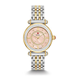 Caber Mid Two-Tone Diamond Watch