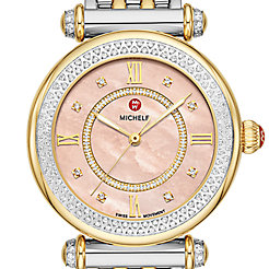 Caber Mid Two-Tone Diamond Watch