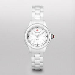 Jetway Mini White Ceramic Watch