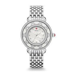 Cloette Diamond, White MOP Diamond Dial Watch