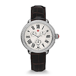 Serein Diamond, Espresso Alligator Watch