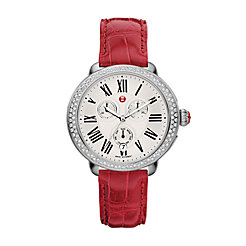 Serein Diamond, Garnet Alligator Watch