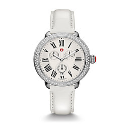 Serein Diamond, White Alligator Watch