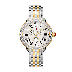 Serein Diamond Two Tone Gold, Two Tone Bracelet Watch