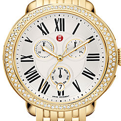 Serein Diamond Gold Watch