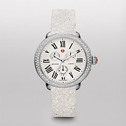 Serein Diamond White Crystal Watch