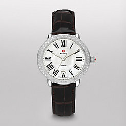 Serein 16 Diamond Espresso Alligator Watch