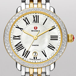 Serein 16 Diamond Two-Tone Watch