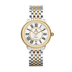 Serein Mid Two-Tone Diamond Dial Watch