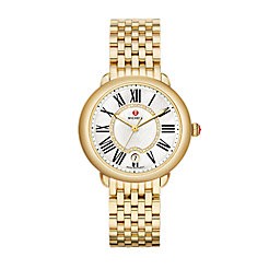 Serein Mid Gold, Diamond Dial Watch