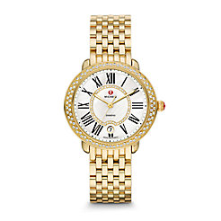 Serein Mid Gold Diamond Watch