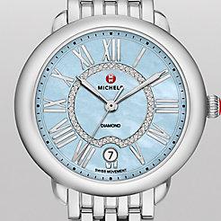Serein 16, Blue Diamond Dial Watch