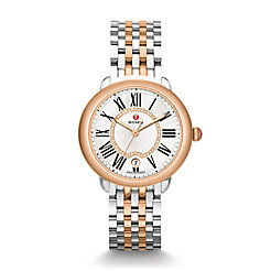 Serein 16 Two-Tone Rose Gold, Diamond Dial Watch