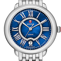 Serein 16, Blue Diamond Dial Watch