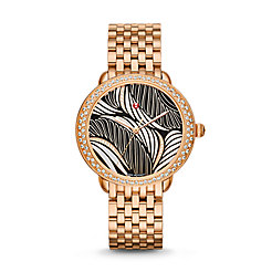 Serein 16 Diamond Rose Gold, Willow Diamond Dial Watch