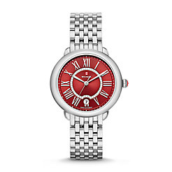 Serein 16, Red Diamond Dial Watch