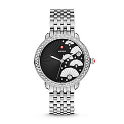 Serein 16 Diamond, Fan Diamond Dial Watch