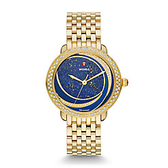 Serein Mid Lapis Diamond, Diamond Dial Watch