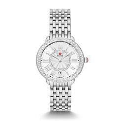 Serein Mid Stainless-Steel Diamond Watch