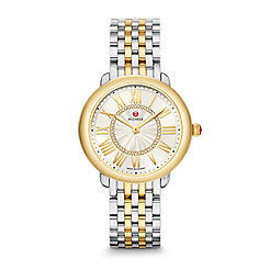 Serein Mid Two-Tone 18k Diamond Dial Watch